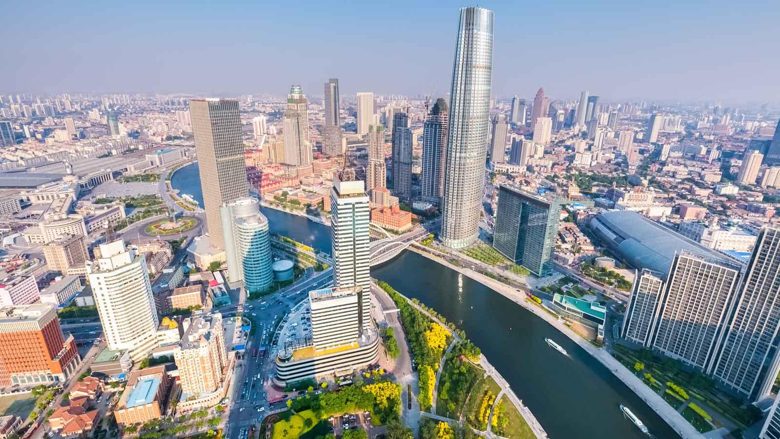 Tianjin'deki Türk Firmaları