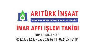 Arıtürk Mimarlık Ofisi | Mimar Sinan ARI | Bursa Mimarlık Ofisi